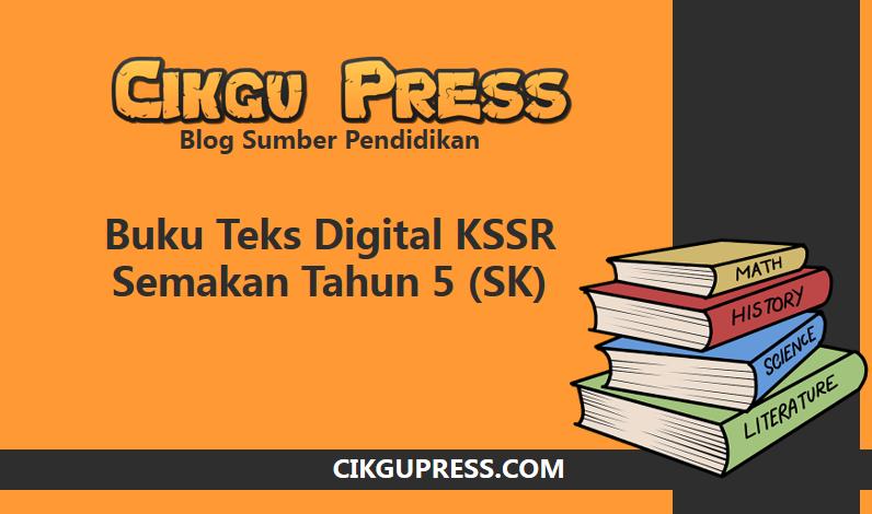 buku teks digital tahun 5