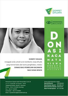 Contoh Flyer Donasi