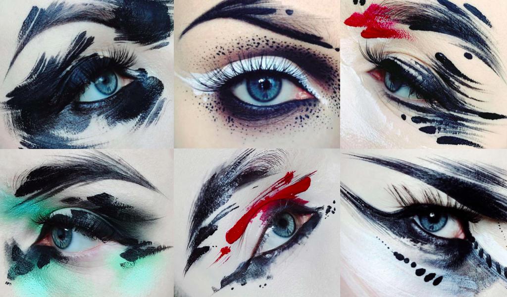 makeup creative unusual
