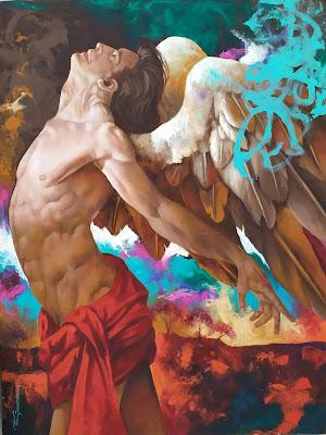 Alex Stevenson Diaz pintor de Colombia