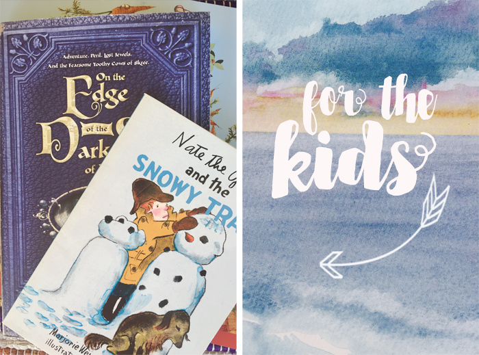 Summer Stack Reading List at A Nest for All Seasons for the Kids