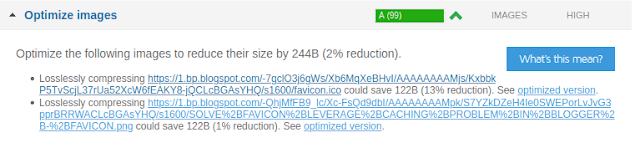 download optimized image to improve page performance