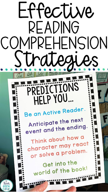 reading comprehension strategies upper elementary