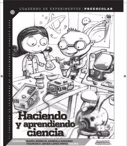 Cuaderno de Experimentos para preescolar