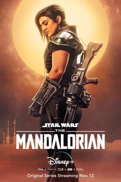 Póster de 'The Mandalorian'. Gina Carano