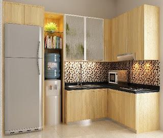 Desain Dapur Minmalis 3×3