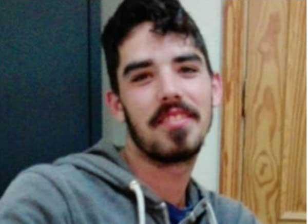 El joven de 21 años desaparecido en Granadilla de Abona, Tenerife. David Ribas Hernández