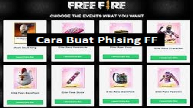 Akun Phising Free Fire
