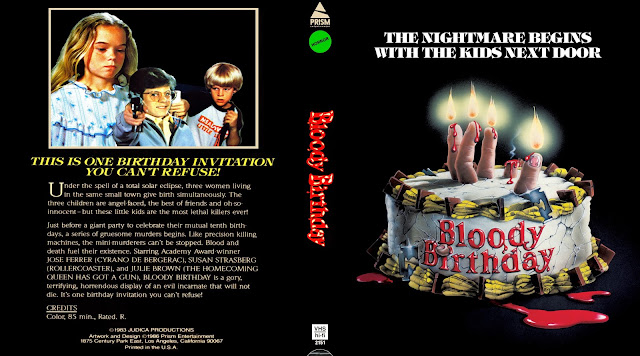 Bloody Birthday Bluray Cover
