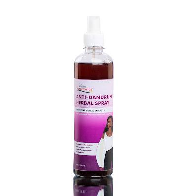 African Naturalistas Anti-Dandruff Herbal Spray