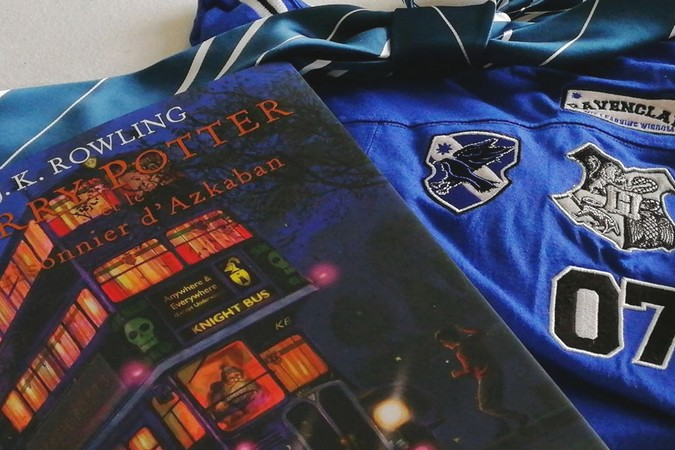 Harry Potter 3 illustré, goodies Harry Potter (Ravenclaw)