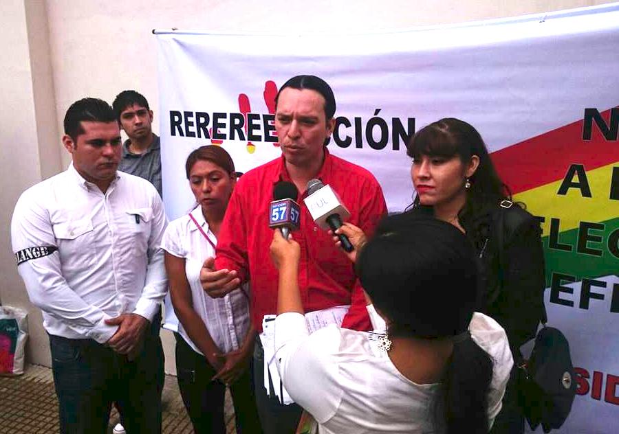 Hurtado, joven activista y político cruceño / FACEBOOK