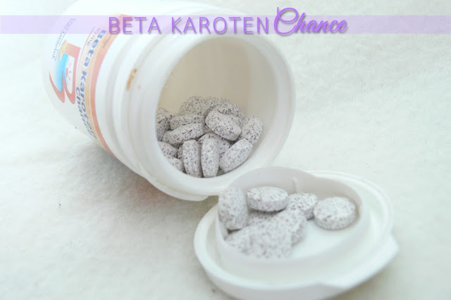 Chance, Beta Karoten tabletki