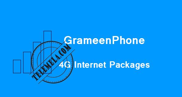 Grameenphone 4G Internet Packages