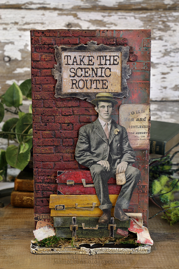 In My Own Imagination: TAKE THE SCENIC ROUTE - TIM HOLTZ SIZZIX ...