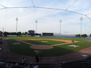 Home to center, Richmond County Bank Ballpark at St. George