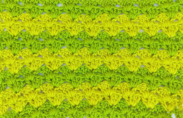 3 - Crochet Imagen Puntada a crochet a facil sencillo bareta paso a paso DIY puntada punto alto punto bajo