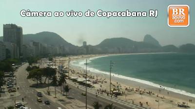 Cãmera ao vivo do Rio de Janeiro