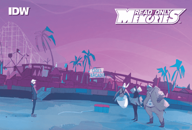 Cyberpunk Mystery Read Only Memories Comic Issue #1 Out Now