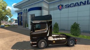 Scania Crown Edition Skins & Colored Display