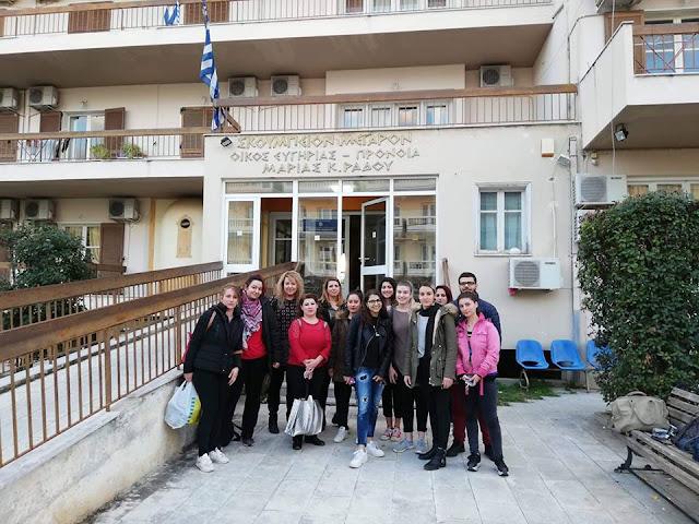 Συγκινητική δράση των σπουδαστών κομμωτικής τέχνης του ΔΙΕΚ Άργους στο Γηροκομείο του Ναυπλίου