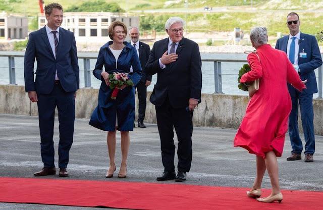 Queen Margrethe, President Frank-Walter Steinmeier and Elke Büdenbender