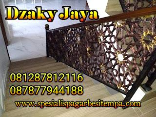 model railing tangga besi tempa, railing tangga klasik, railing tangga besi ulir (12)