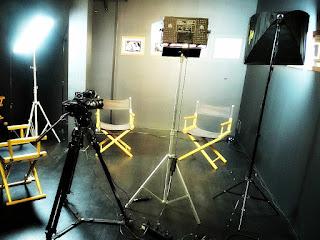 Set de Filmagem no Museu do Festival de Cinema de Gramado