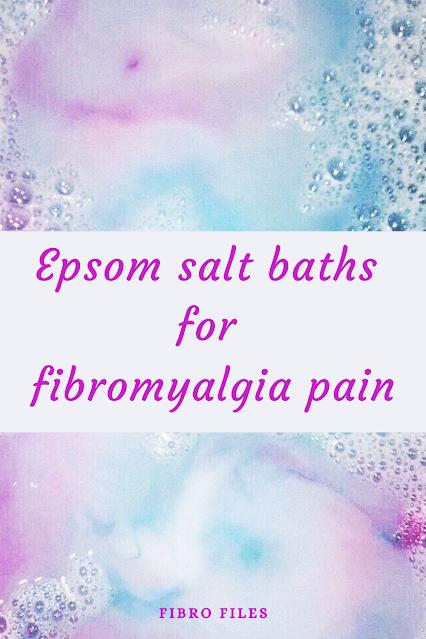 Epsom salt baths for fibromyalgia pain