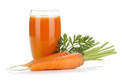 Χυμός από 3 μεγάλα καρότα