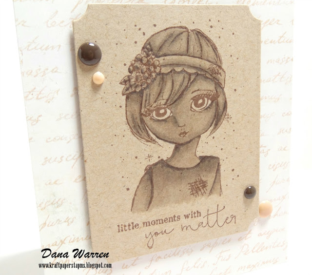 Dana Warren - Kraft Paper Stamps - Unity Stamp Co.