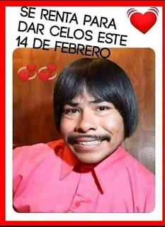Memes San Valentín de renta para dar celos
