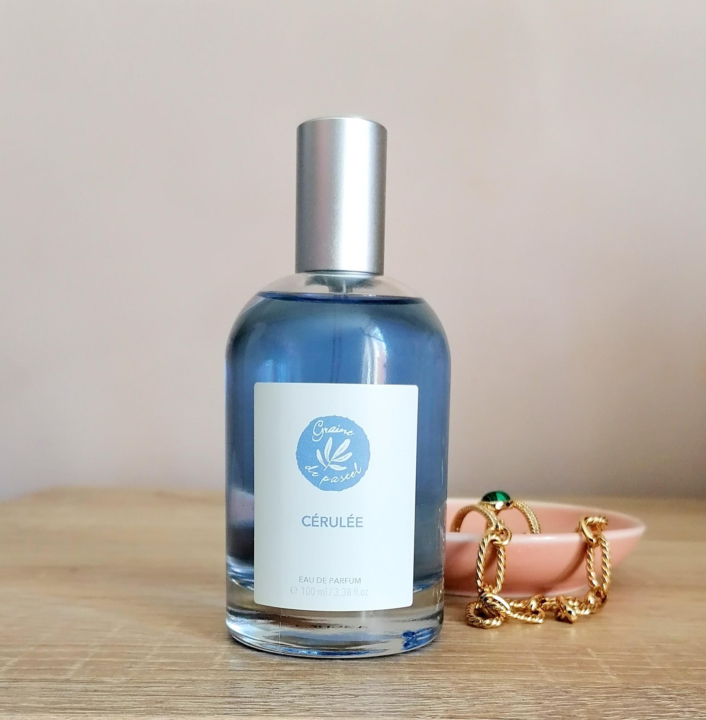 Cérulée, le parfum féminin par Graine de Pastel!