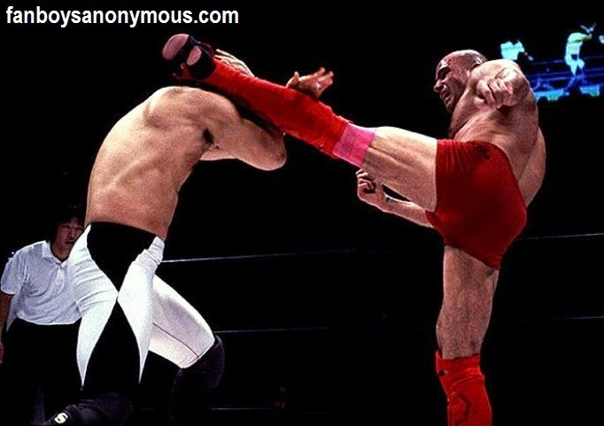 Here Comes The Boom actor Bas Rutten King of Pancrase champion