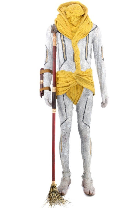 Star Trek Into Darkness Nibiran costume spear