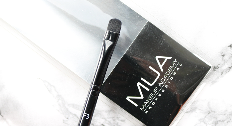 MUA F3 Concealer Brush review