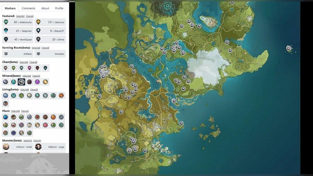 Iron Chunk in Genshin Impact MAp2