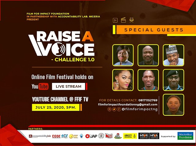 War Against Rape, Other Vices:  All Is Set For Maiden Edition Of Raise A Voice Challenge