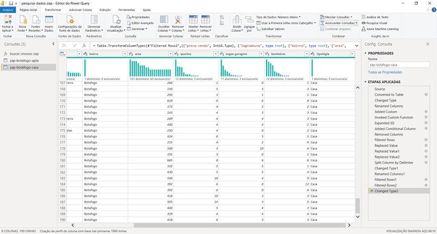 Guia passo a passo tratamento de dados com Power bi - figura 32