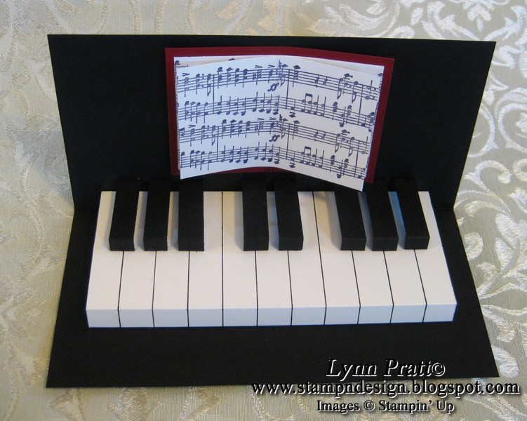 Stamp N Design Piano Cards