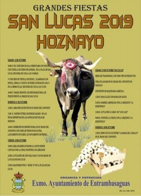 Fiestas de San Lucas en Hoznayo 2019
