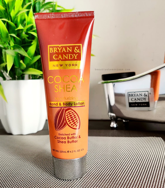 Bryan and Candy New York's Cocoa and Shea hand and body lotion