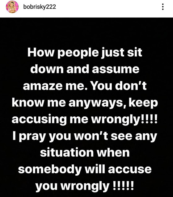 James Brown reacts after his IG account has been deactivated after his Fight With Bobrisky (Watch video)