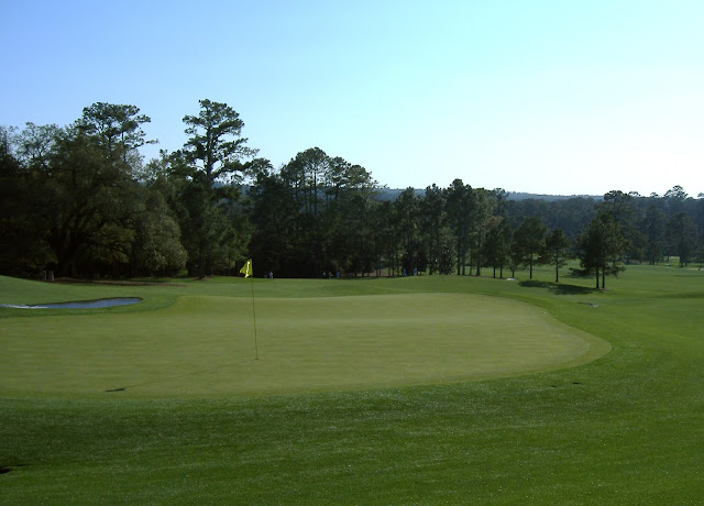 The 18th hole at Augusta National is named Holly