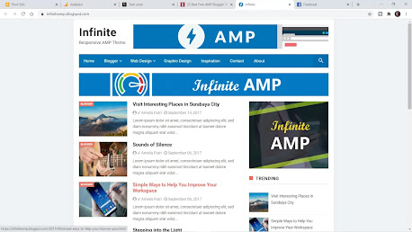 Infinite AMP template Customization