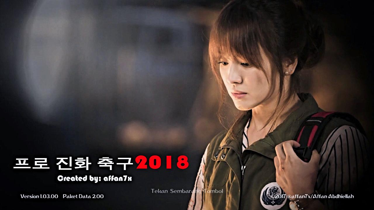 PES 2018 Kang Mo Yeon Start Screen by affan7x