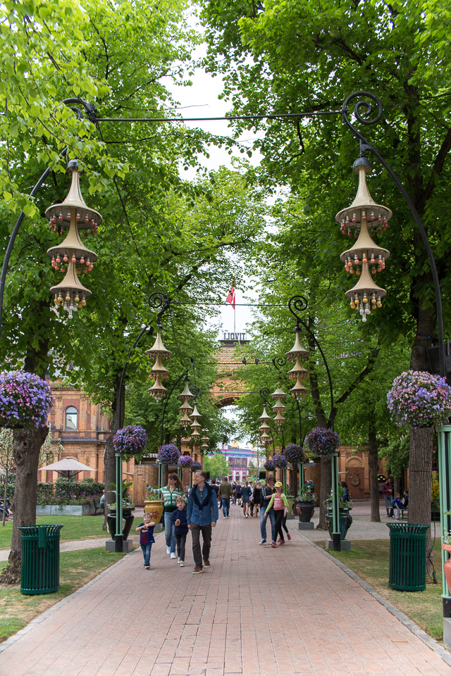 Kööpenhaminan Tivoli, matkustelu, Kööpenhamina, Villa H