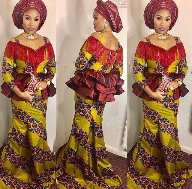 Beautiful Ankara Long Gown Styles 2017 Dezango