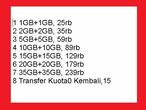 Paket Internet Murah XL Kuota 35GB+35GB Masa Aktif 1 Bulan