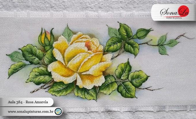 Aula 384 - Rosa Amarela